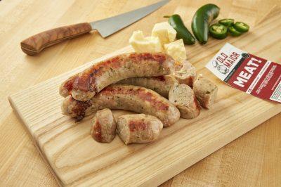 Buy Jalapeno Cheddar Bratwurst Online
