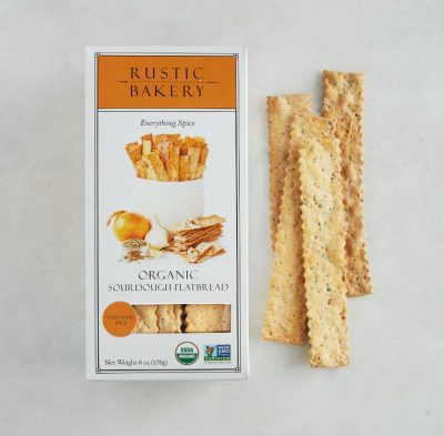 Buy Rustic Bakery Everything Spice Flatbread Crackers Online