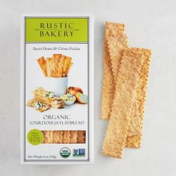 Buy Rustic Bakery Sweet Onion & Creme Fraiche Flatbread Crackers Online